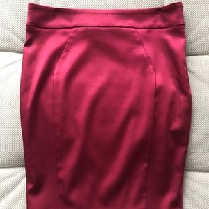 Marciano Satin Pencil Skirt 10 New w/o Tags